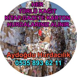 Arnavutköy Hurda Karton Kağıt Kitap Alım Servisi