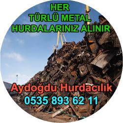 Beşiktaş Hurda Demir Bakır Aluminyum Metal Alım Servisi