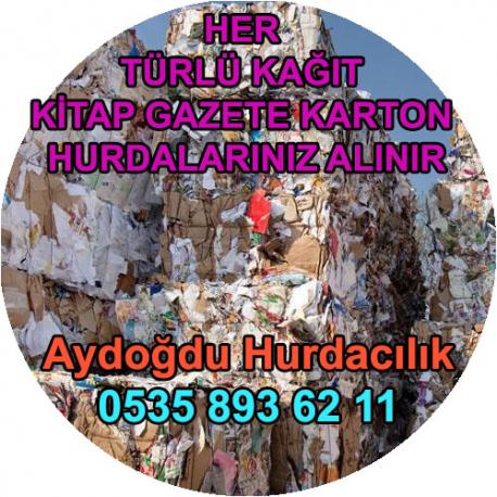 Çekmeköy Hurda Karton Kağıt Kitap Alım Servisi